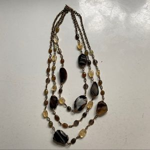 Jewelry - Multi-strand beaded necklace